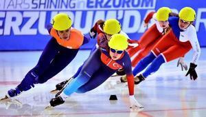 Sürat pateninde kızlarda Rusya, erkeklerde Lüksemburg altın kazandı