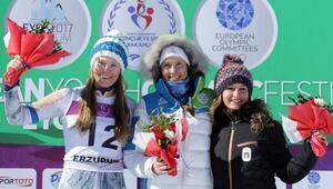 Slalomda Nika Tomsic Slovenyaya altın kazandırdı
