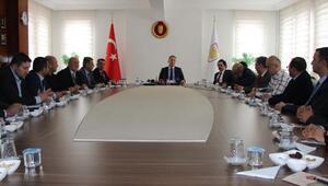 Sivasta yeni OSB yatırımcılarıyla toplantı