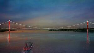 1915 Çanakkale Köprüsünün görselleri ilk kez yayınlandı