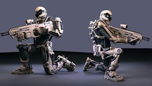 TSKya robot asker geliyor