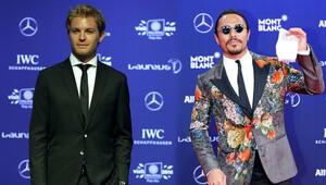 Nusret, özel tuz atma tekniğini Rosberge öğretti