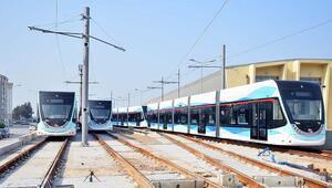 Karşıyaka tramvayı için 17 araç alındı