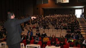 Öğrencilere Farkındalığın farkedilişi konferansı
