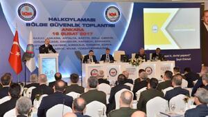 Bölge güvenlik toplantılarının ilki Ankarada gerçekleşti