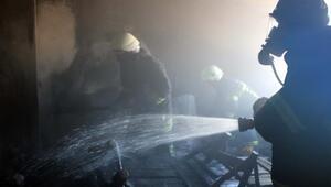 Adıyamanda, ev yangını hasara yol açtı