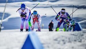 Kayaklı koşuda zafer Rusyanın