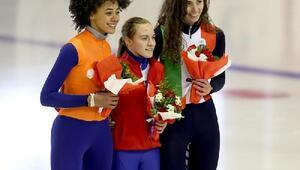 500 metre sürat pateninde Rus Vera altın madalya aldı