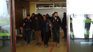 Edirne'de uyuşturucu satıcılarına operasyon: 10 gözaltı (2)
