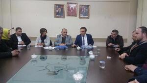 Başkan Genç, AK Parti teşkilatını ziyaret etti