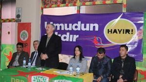 HDP ve DBP Hakkaride halk toplantısı düzenledi