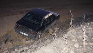 Gölbaşıda otomobil devdildi: 4 yaralı