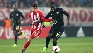 Olympiakos 0-0 Osmanlıspor / MAÇ SONUCU