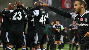 Beşiktaş deplasmanda Hapoel Beer Shevayı 3-1 mağlup etti.. İşte maçın golleri ve özeti