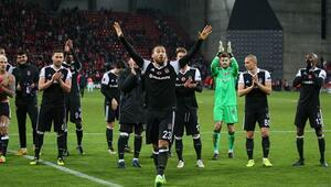 Beşiktaş Avrupa Ligine damga vurdu