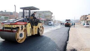 Eyyübiye'de, bulvar çalışması tamamlandı