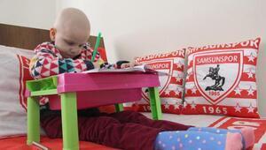 6 yaşındaki Yağmura, kemik tümörü teşhisi