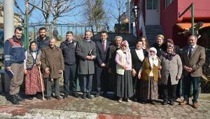 Vali Civelek, Demirköy'de muhtarlarla bir araya geldi