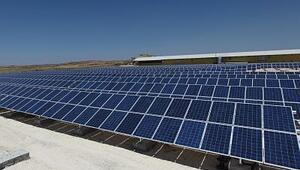 7,4 milyon dolarlık güneş santrali