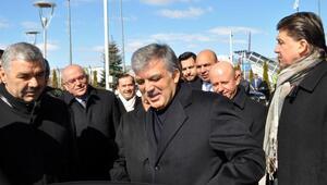 Abdullah Gül, babasını ziyaret için Kayseri'de