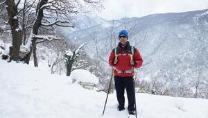 Bursalı görme engelli Necdet, 5 Maraton 5 Zirve' projesinin finalinde
