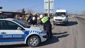 Keşan'da sivil trafik uygulaması başladı