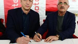 Kardemir Karabükspor Zoran Barisicle imzaladı