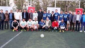 Akçakale'de, Futbol turnuvası başladı