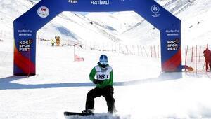 Koç Spor Fest Kış Oyunları Erciyeste başladı