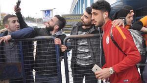 Galatasaray Trabzon'a geldi