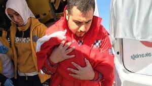 Kalp hastası minik Abdulkadir, uçakla İstanbula götürüldü