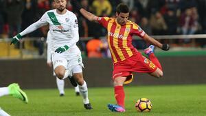 Kayserispor 2-0 Bursaspor