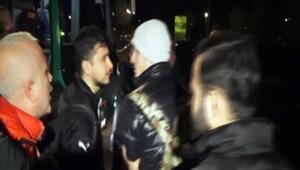 Bursasporlu futbolcuya havaalanında şok tepki: Bursa'yı terk et
