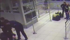 Valize girerek Gürcistana geçmek isteyen kişi yakalandı