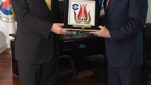 ABD Büyükelçisinden EBSOya ziyaret