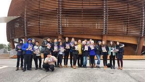 Türk öğrenciler CERN'ü gezdi
