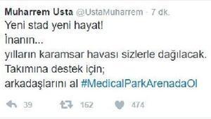 Trabzonspor Başkanı Usta, taraftarları maça davet etti