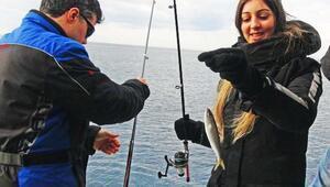 Dalyandaki festival balıkçıları yarıştırdı