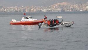 İzmirde denizden ceset çıktı