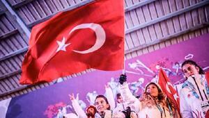 EYOF Bayrağı Saraybosnada