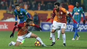 Çaykur Rizespor 1-1 Galatasaray / MAÇ SONUCU