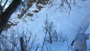 Tuncelide -20 derece soğuk ve 3 metre karda operasyon