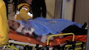 Eşlerin bıçaklı kavgası hastanede bitti