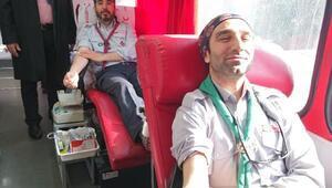 İzcilerden kan bağışı