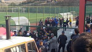 Zonguldakta amatör maçta kavga: 2 yaralı