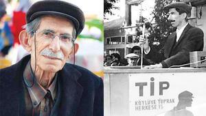 Sosyalist muhtar öldü
