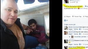 Türkün intikamı notuyla paylaştı, bu kare infial yarattı