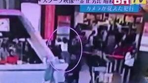 Havalimanındaki suikast görüntüleri ortaya çıktı