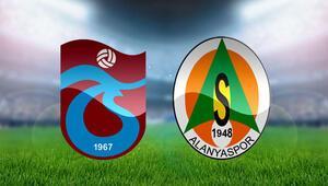 Trabzonspor Aytemiz Alanyaspor maçı bu akşam saat kaçta canlı yayınlanacak - İşte iki takımın ilk 11leri