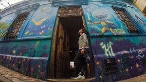 Grafiti dolu sokaklarıyla ünlü Bogota